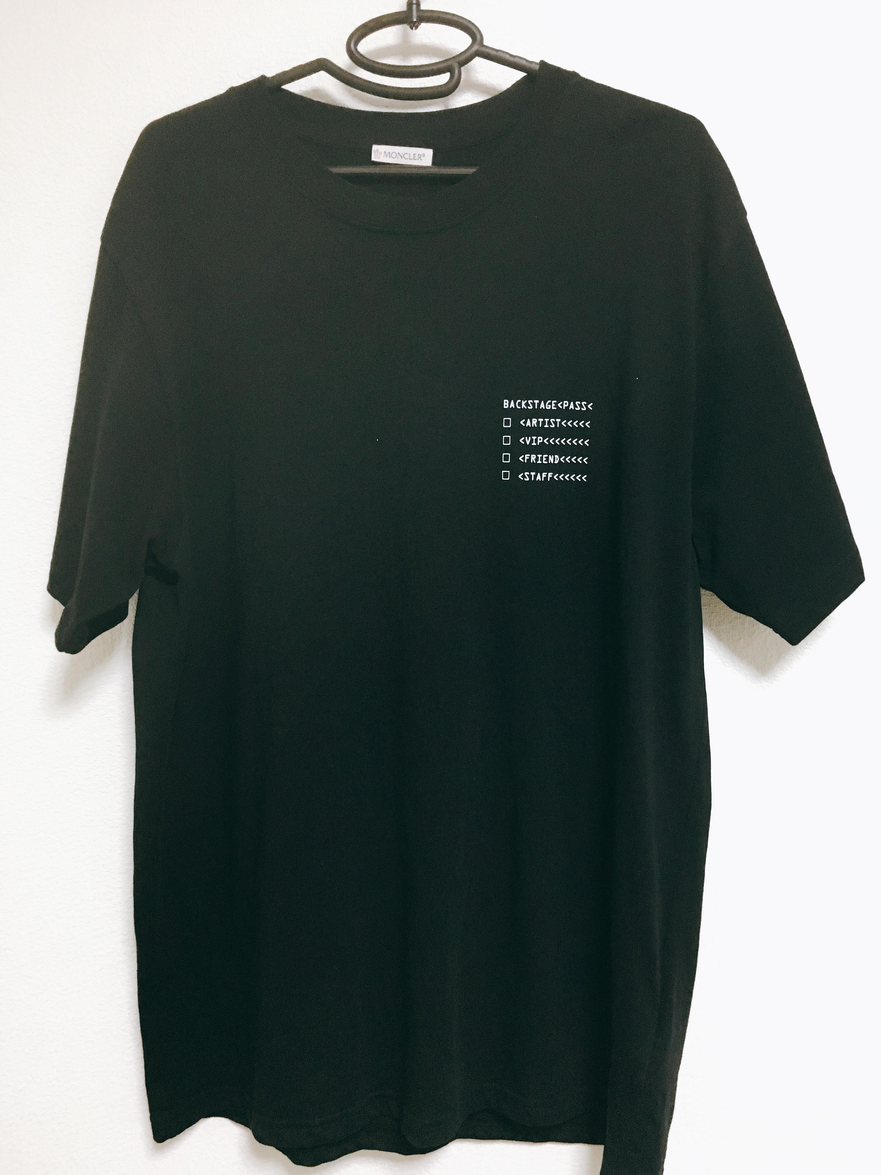 ラファエル着用のモンクレールのTシャツ モンクレールジーニアス 藤原ヒロシ