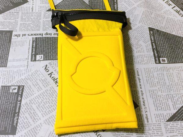 ラファエル着用のモンクレール クレイググリーンのポーチ バッグ